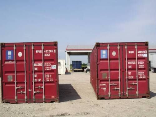 40 Shipping Containers For Sale Ebay >> 40 Wind Water Tight Lockable Steel Shipping Storage