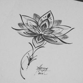 Resultado De Imagen De Flor De Loto Tattoo Tattoos Tattoos