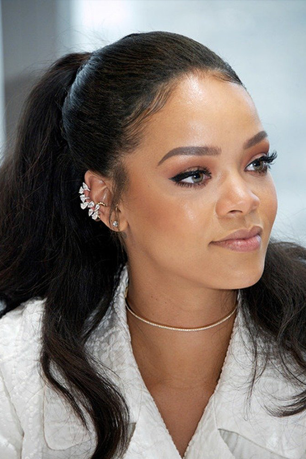 How To Style Baby Hairs To Achive On Point Looks Rihanna Makeup Summer Hairstyles Baby Hairstyles