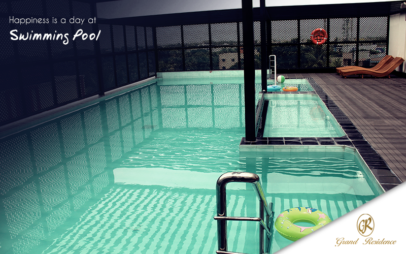 Beat the Summer heat and relax in the cool pool at Hotel Grand Residence, Porur, Chennai  #GrandResidence #GrandResidencePorur #Porur #Chennai #Hotel #Summerpool #SwimmingPool #Hotelpool
