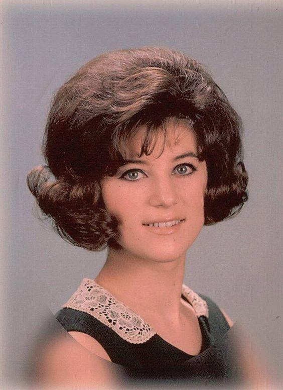 Sheila 1960s | Hair styles, Medium curly hair styles ...