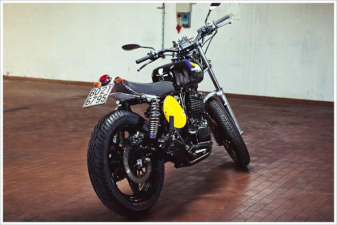 Honda FT500 - Lorenzo Buratti | Two Wheeled Inspiration | Honda