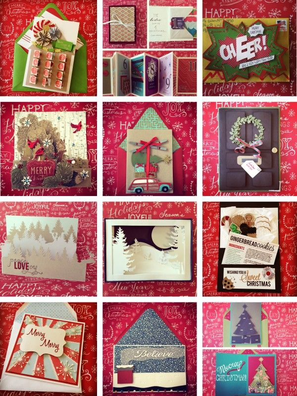 Employee Holiday Cards | PAPERCRAFT | Pinterest | Cards, Holiday ...