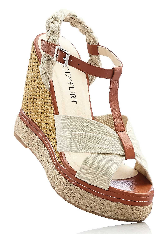 86c9d2ca8 Raffia Wedge Sandals | for poolside glam | bonprix | Sunshine State ...