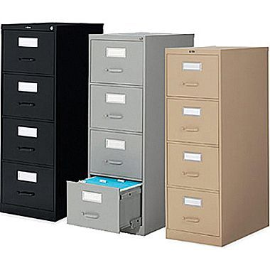 Staples Vertical Legal File Cabinets 4 Drawer