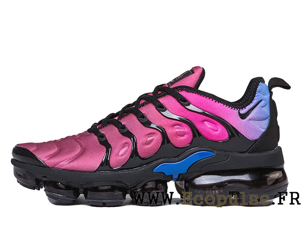 5544265fd9426 Nike Air VaporMax Plus 2018 Chaussures Bleached Aqua TN Pas Cher Homme Bleu  violet noir AO4550