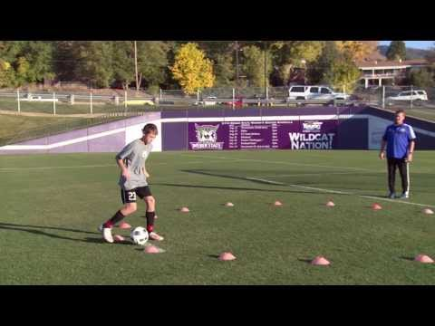 Basic Youth Soccer Drills - Dribbling (5)