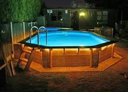 Above Ground Pool Privacy Ideas Bing Images Swimming Pool Landscaping Swimming Pool Decks Backyard Pool