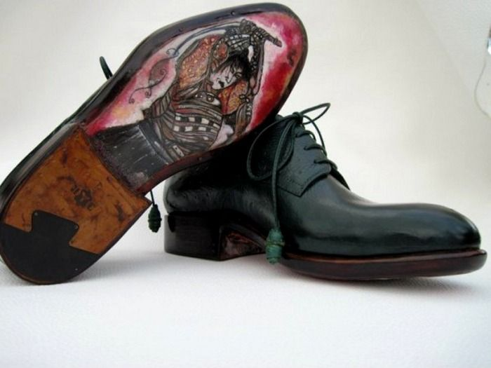 Ivan Crivellaro Lace Up Black Expensive Mens Shoes Samurai