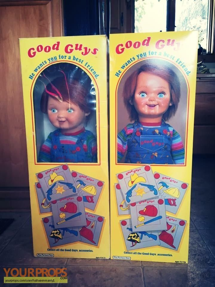 Childs Play Original Movie Prop Chucky In 2019 Chuky