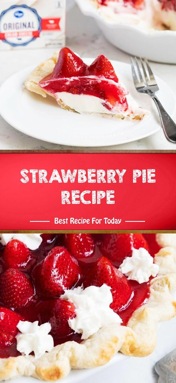Strawberry Pie Recipe The Ingredients And How To Make It Please Visit The Website Simple Recipes Easy Di 2020 Resep Makanan Penutup Resep Makanan Resep Pai