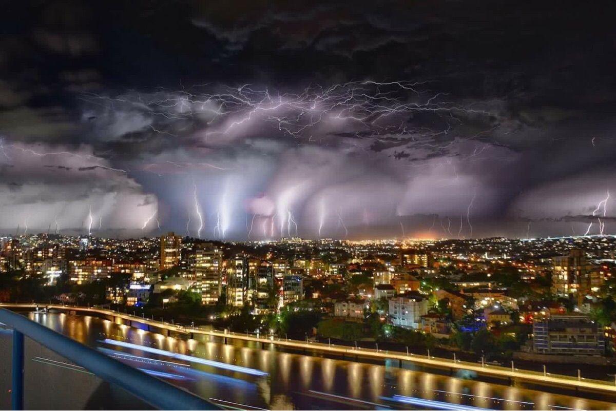 Last nights storm: Brisbane Australia