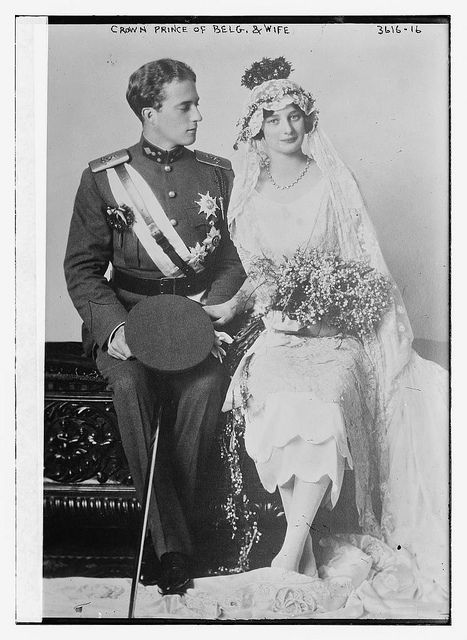 Crown Prince of Belg. [i.e., Belgium] and wife  (LOC) by The Library of Congress, via Flickr