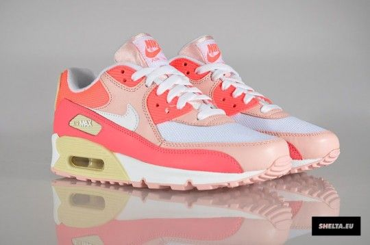 pretty nice 09505 a77d0 NIKE WMNS AIR MAX 90 – HOT PUNCH   STORM PINK – BEACH ( 100-200) - Svpply