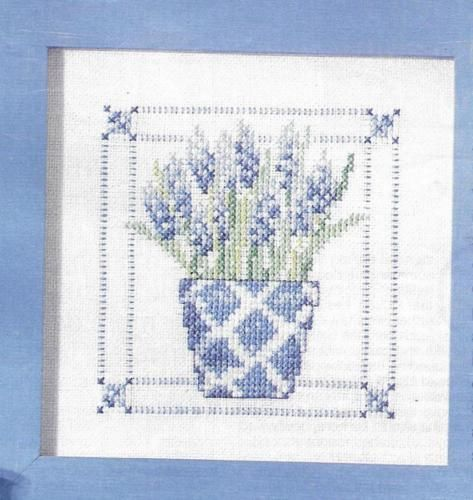 Glorious-Grape-Hyacinths-X-Stitch-Chart