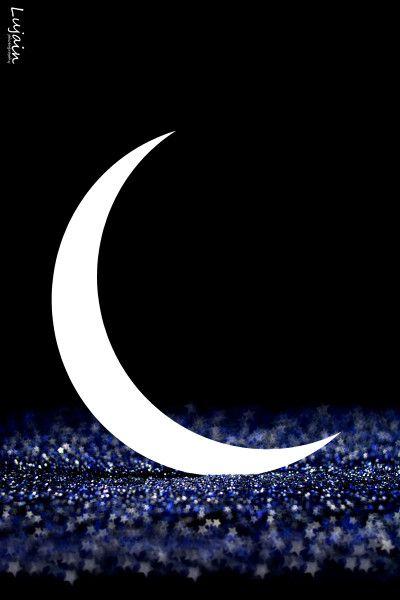هلال رمضان New Moon Celestial Moon