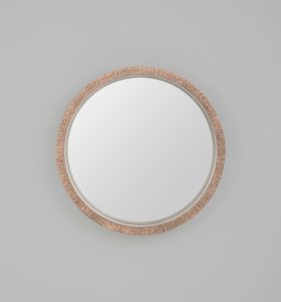 Hazel Wood Circle Mirror