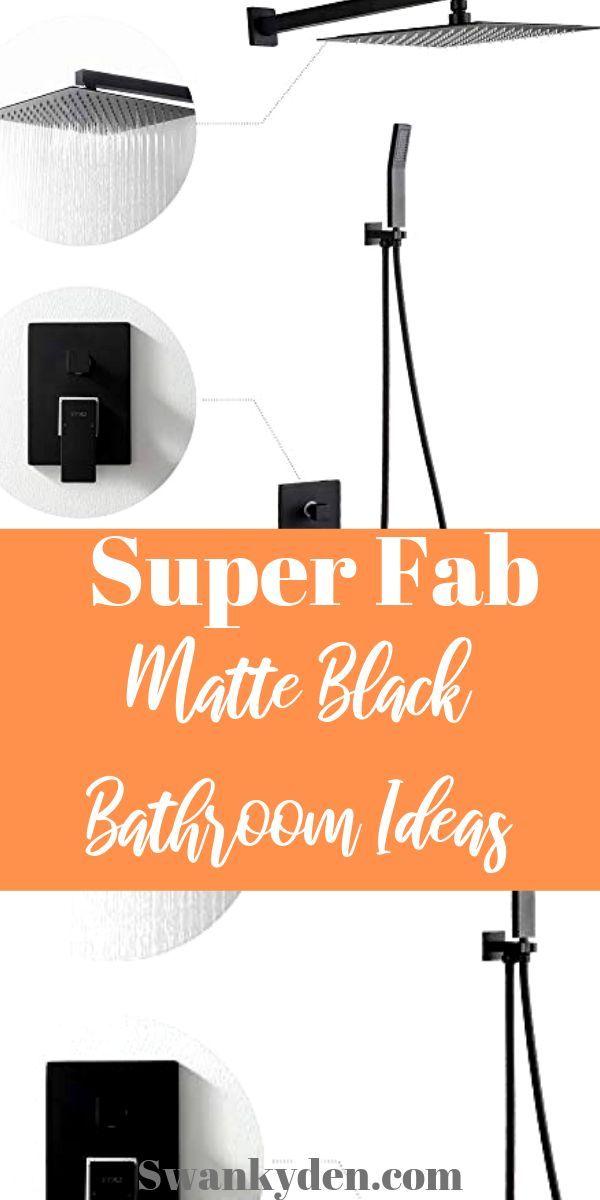Photo of Must have matte black bathroom fixtures – SwankyDen.com
