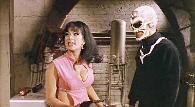 Tura Satana in Astro Zombies (1968)