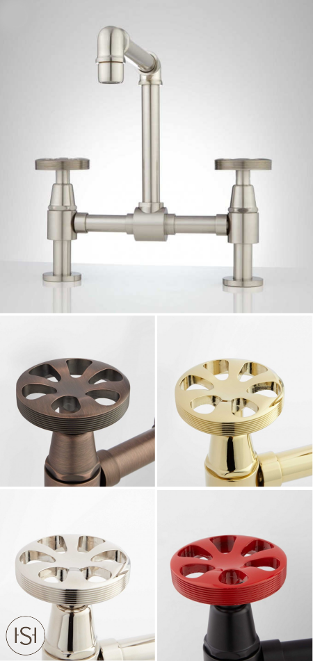 This Edison Bridge Faucet Isn T Just Any Old Bathroom Faucet Think