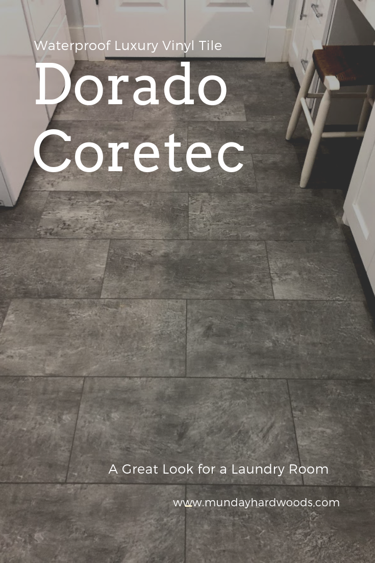 Usfloors Coretec Plus Enhanced Tiles Dorado Waterproof Flooring