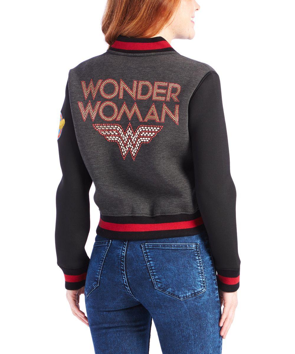 Wonderwoman Varsity Jacket Wonderwoman Varsity Jacket Woman Jackets and Blazers wonder woman varsity jacket