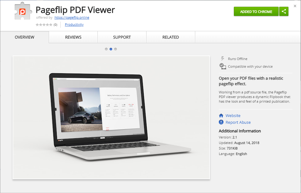 Download our FREE Google Chrome extension and turn any PDF