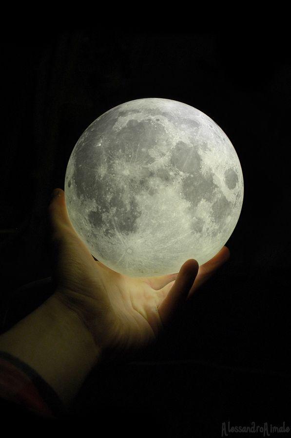 The moon belongs to me.