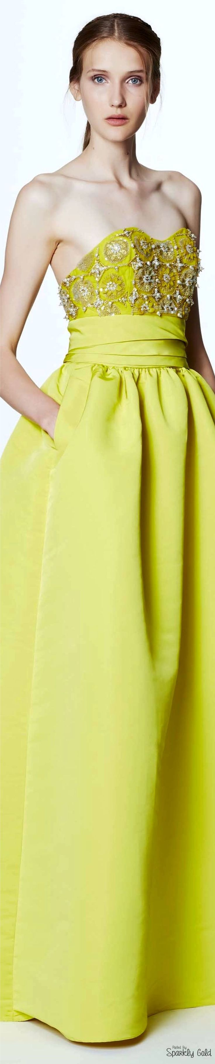 Marchesa notte resort yellow gowns dresses and skirts
