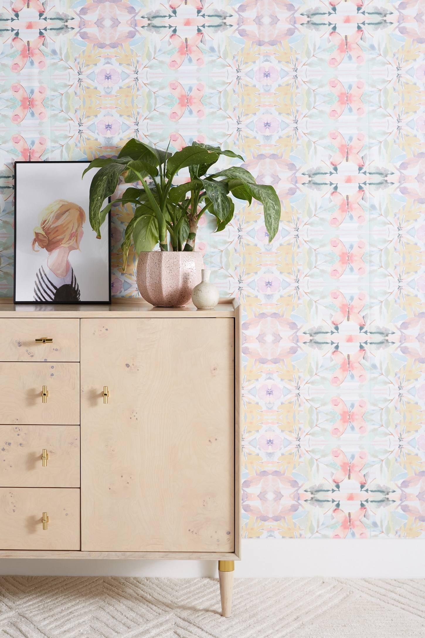 Synchronized Wallpaper Decor Anthropologie Wallpaper Home Decor