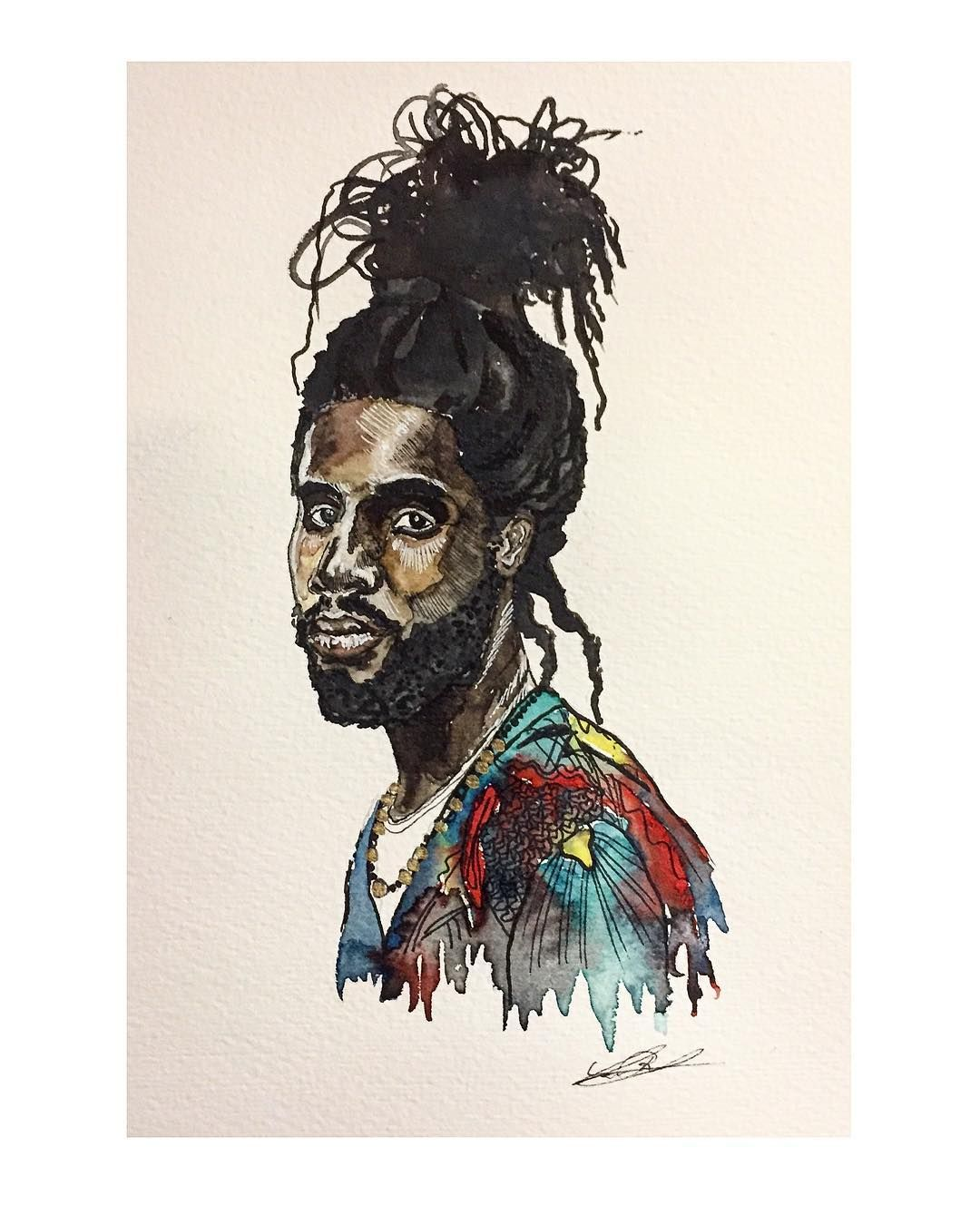 Chronixx by lea beiersd reggae chronixx jamaica
