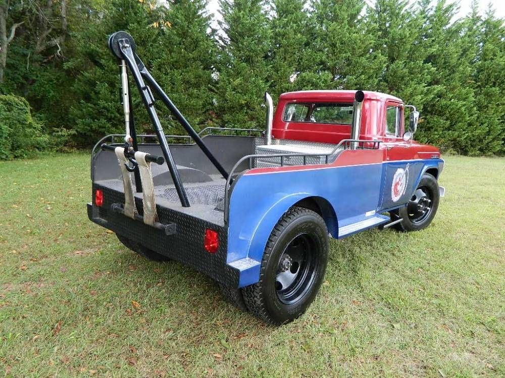 1959 Ford F500 For Sale 1901578 Hemmings Motor News Old Dodge Trucks Trucks Tow Truck