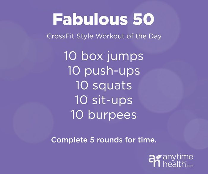 Crossfit Workout Routines: Workout Wednesday: Crush It With A CrossFit-Style WOD