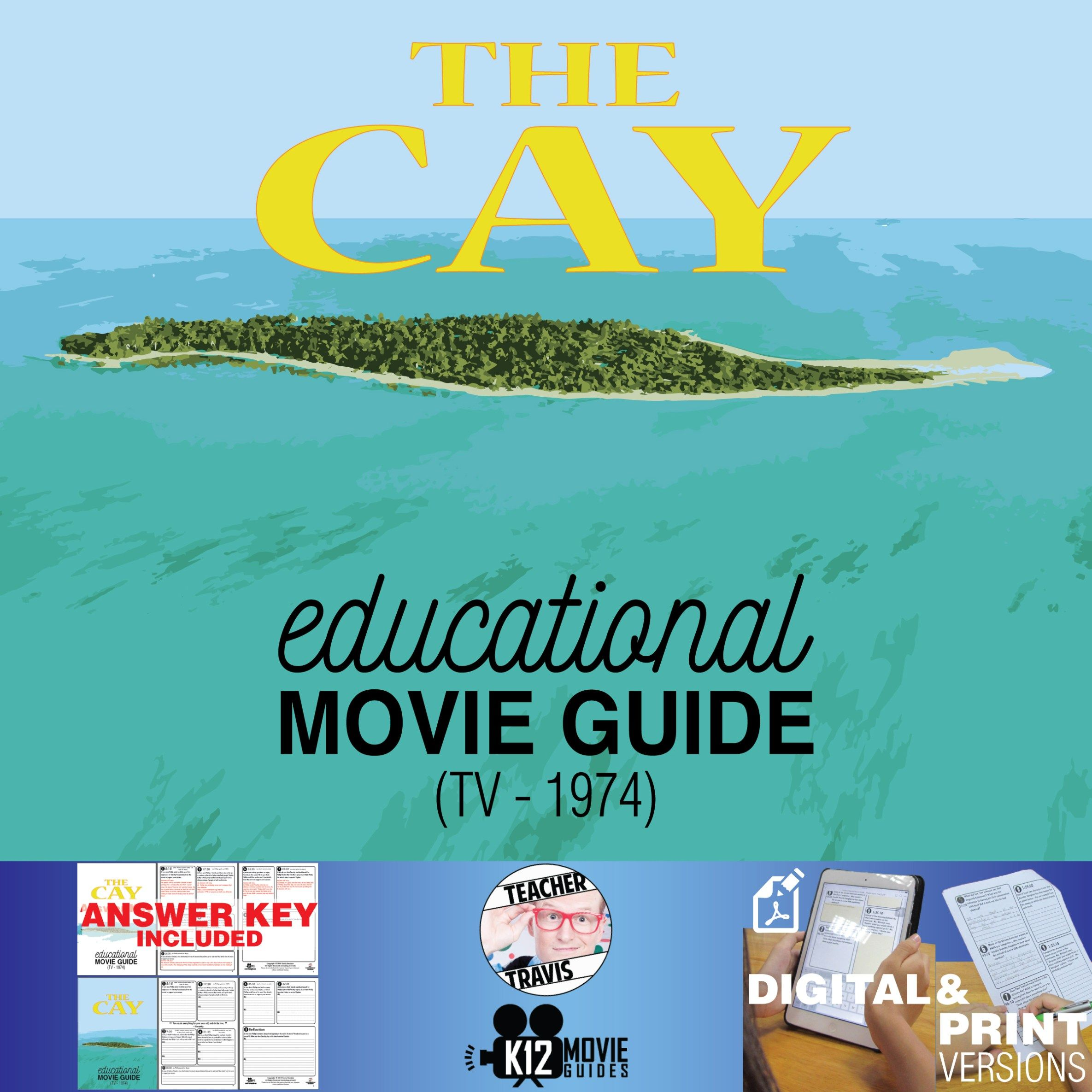The Cay Movie Guide Questions Worksheet Tv