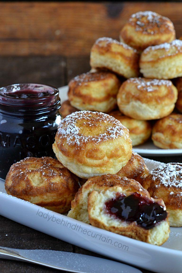 Photo of Old Fashioned Danish Aebleskiver Pancakes