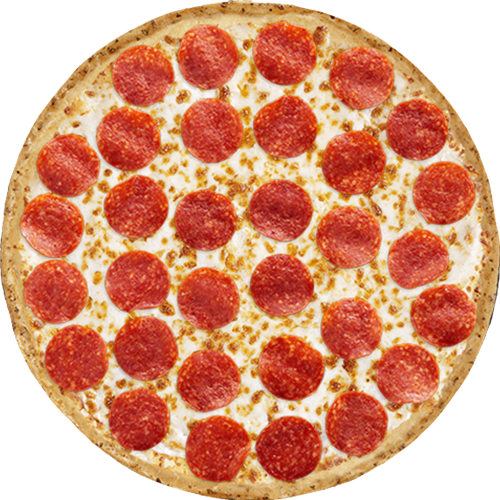 Pepperoni Pizza Pepperoni Pizza Top View 500x500 Png Download Pepperoni Pizza Pepperoni Pizza Toppings