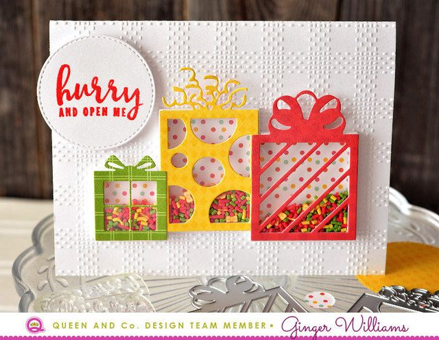 Cards Shaker Box Scrapbooking Creative Scrapbooker Magazine - Childrens birthday cards for the queen