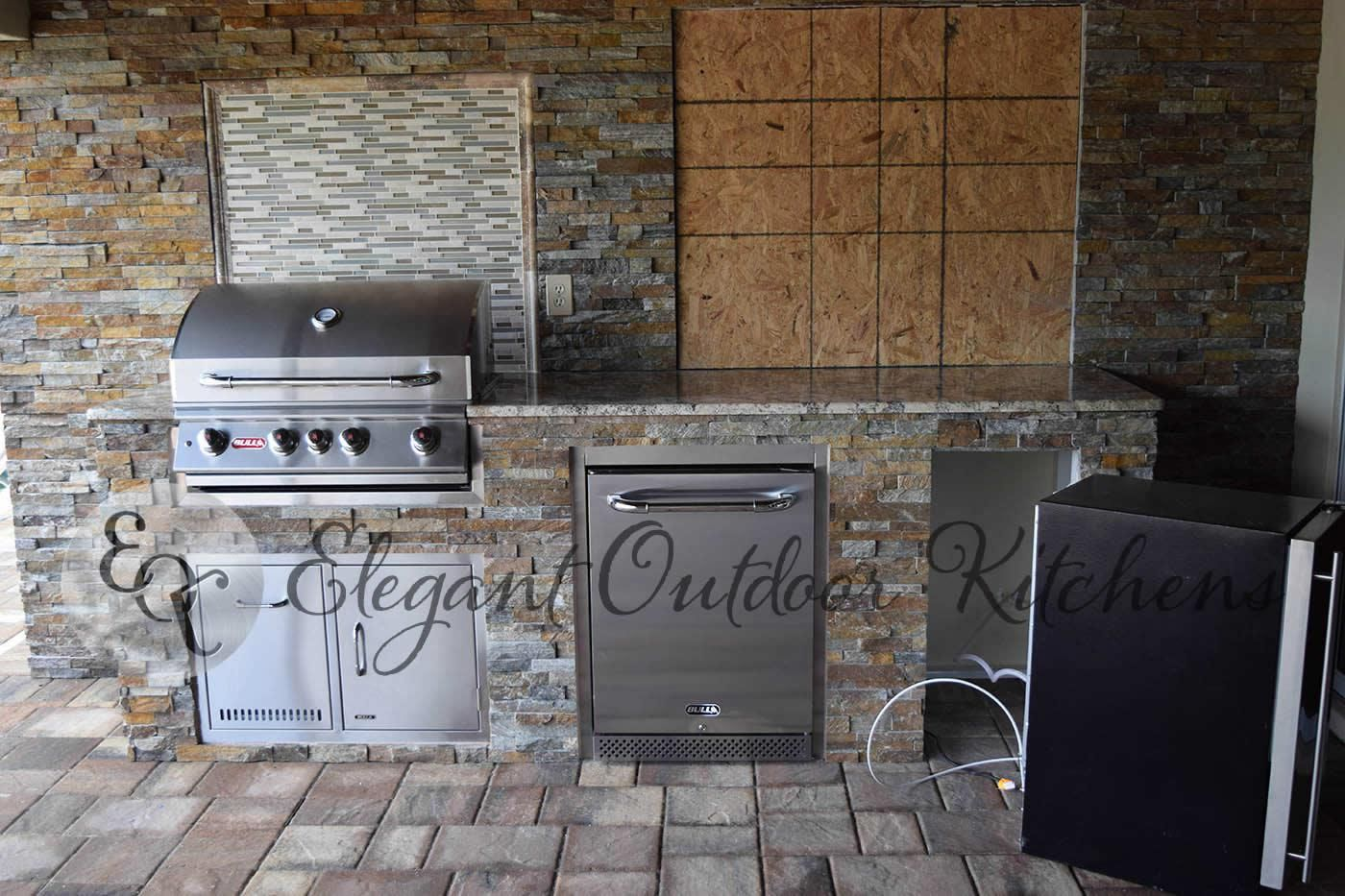 Stacked Stone Galore in Whiskey Creek Custom Outdoor