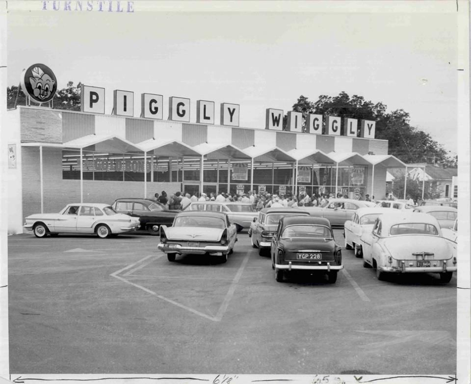 Piggly Wiggly Grand Opening Jacksonville Florida 1961