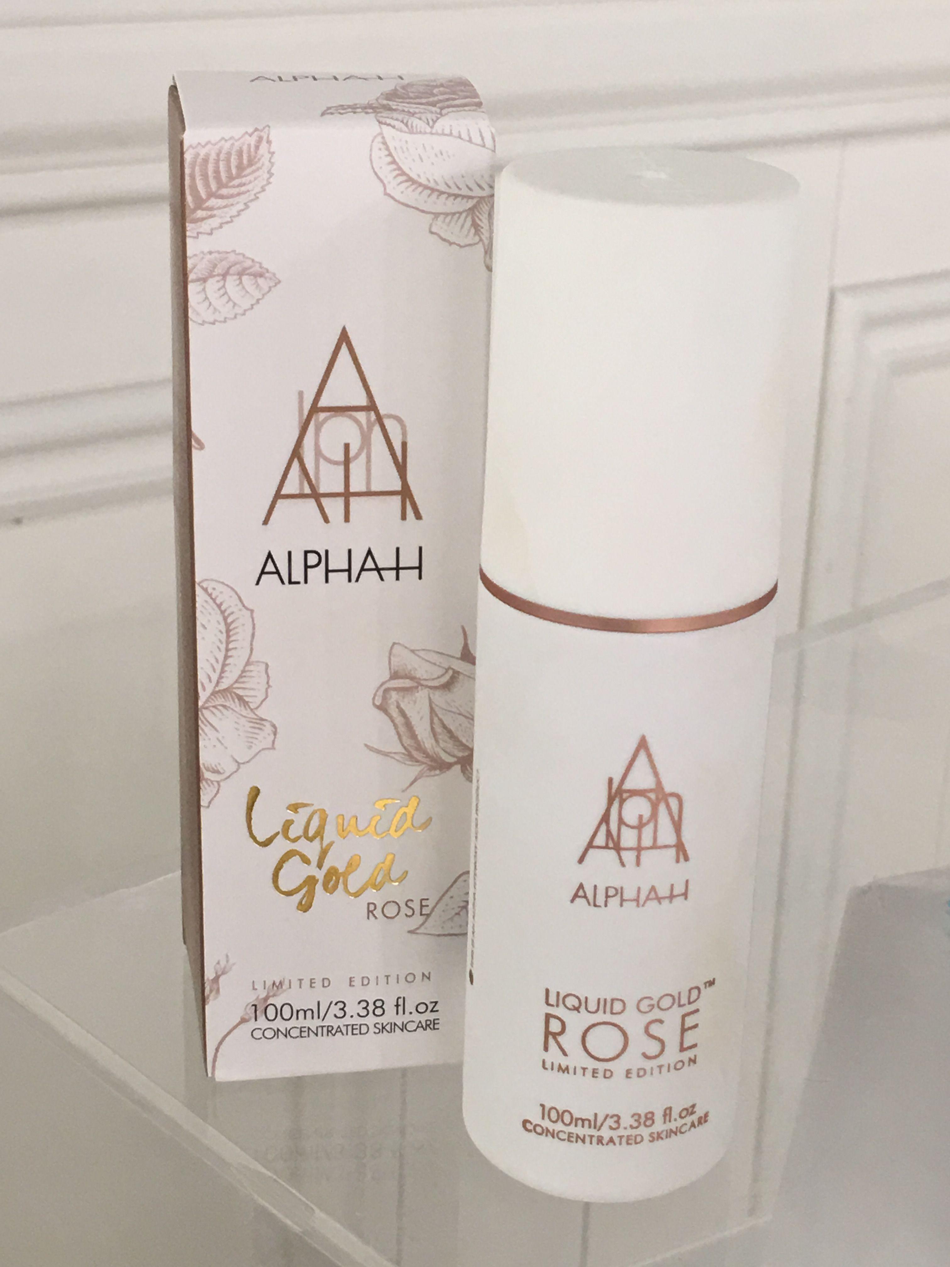 Launching the Alpha H ROSE Liquid gold!!! April 2017
