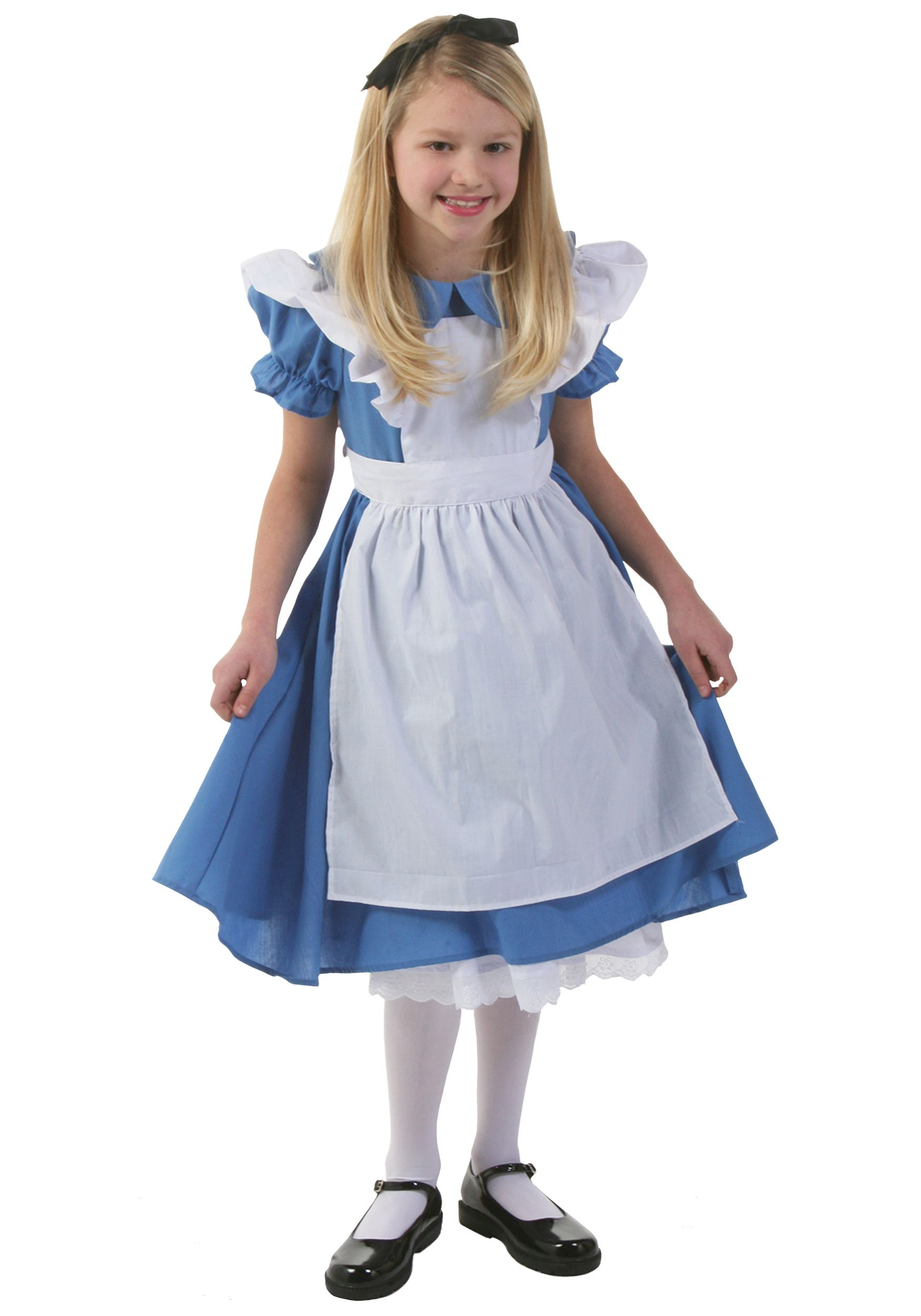 a4a5b2cca46 Child Deluxe Alice in Wonderland Dress for  34.99 from www.halloweencostumes .com