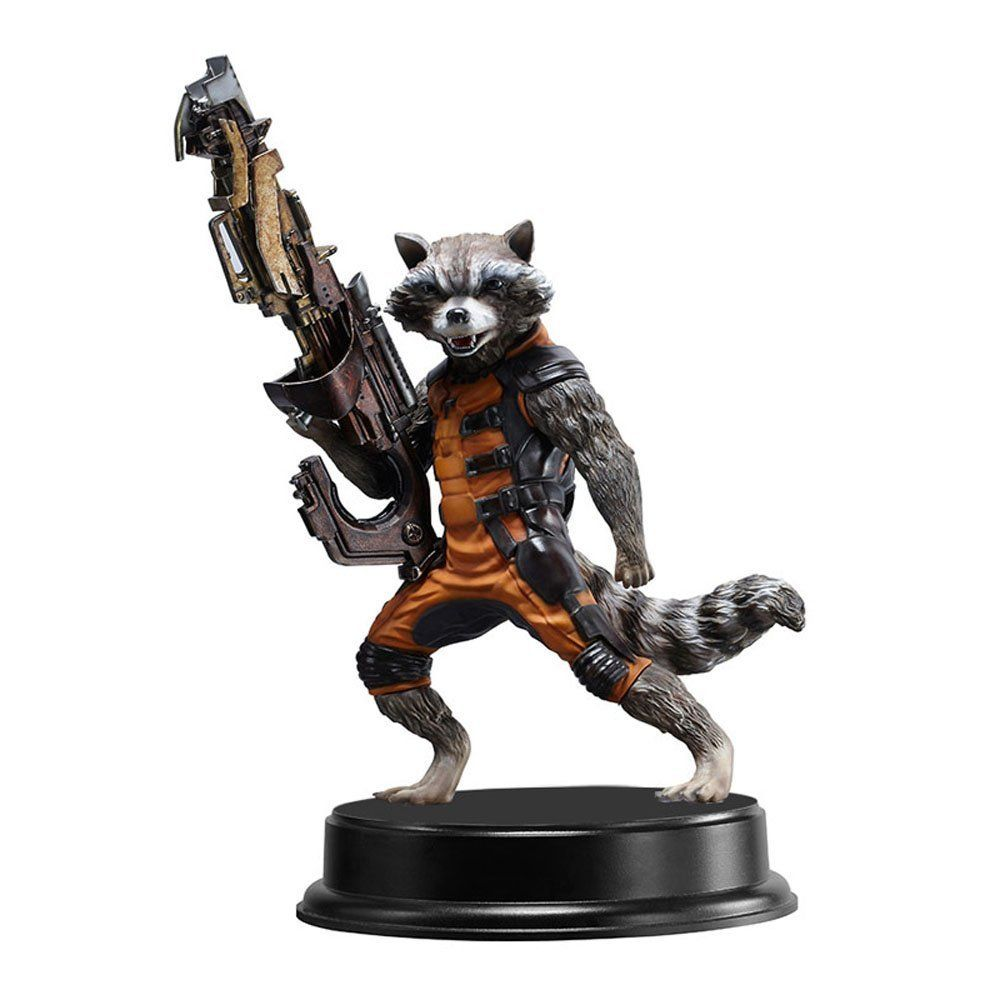 Amazoncom Dragon Models 7 Guardians Of The Galaxy Rocket Raccoon Super Deluxe Vinyl Figure Model Building Kit Toys Games