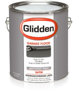 Glidden Garage Floor House Paint