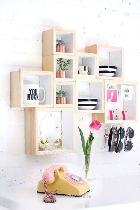 Teen Bedroom Decor Enchanting Diy Teen Room Decor Ideas For Girls  Diy Box Storage  Cool Decorating Design