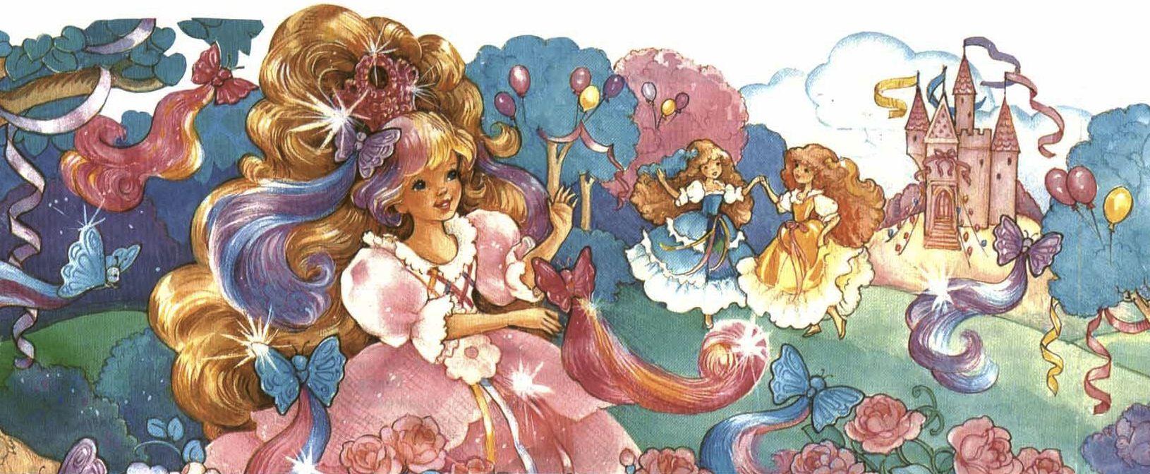 Lady LovelyLocks & friends attending the Flower Ball.