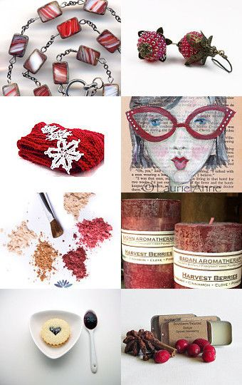 Harvest Berry Blend  by Robin on Etsy--Pinned with TreasuryPin.com