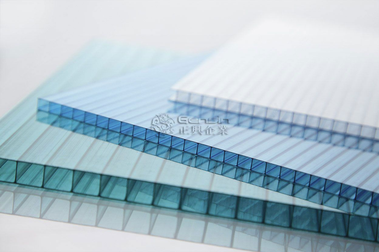 Uv Blocking Polycarbonate Sheet Plastic Roof Sheet