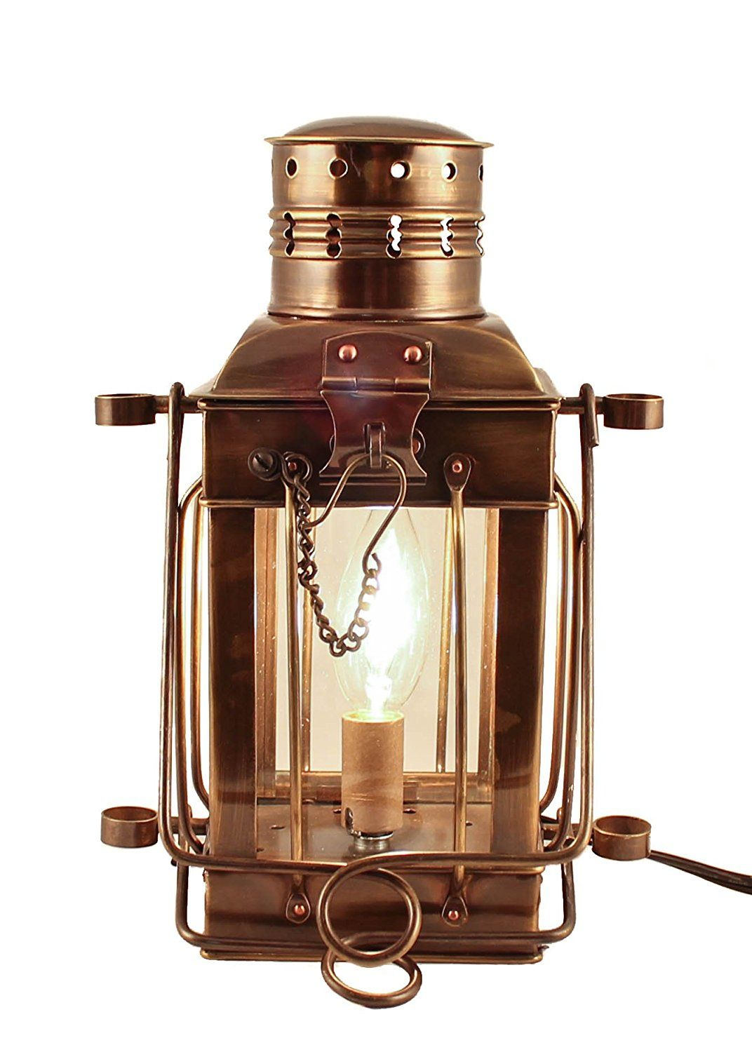 Electric Lamps Antique Brass Cargo Lamp 10 Nautical Lantern Learn More By Visiting The Image Link This Is An Affi Lamp Electric Lamp Nautical Lanterns