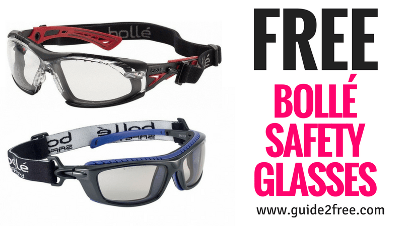 FREE Bollé Safety Glasses Glasses, Baby samples, Safety