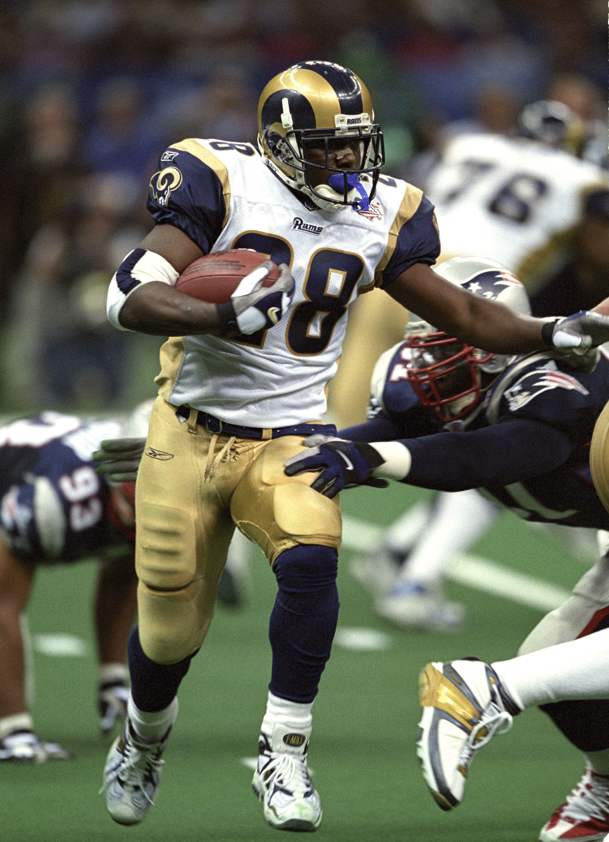Marshall Faulk Rams football, American football, St